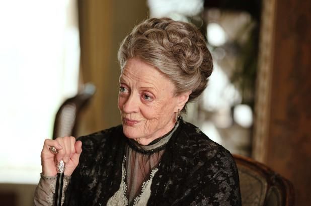 Maggie Smith in Downton Abbey