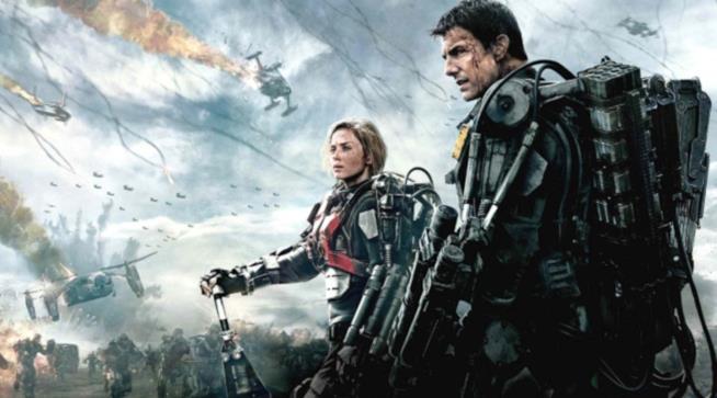 In foto Tom Cruise e Emily Blunt