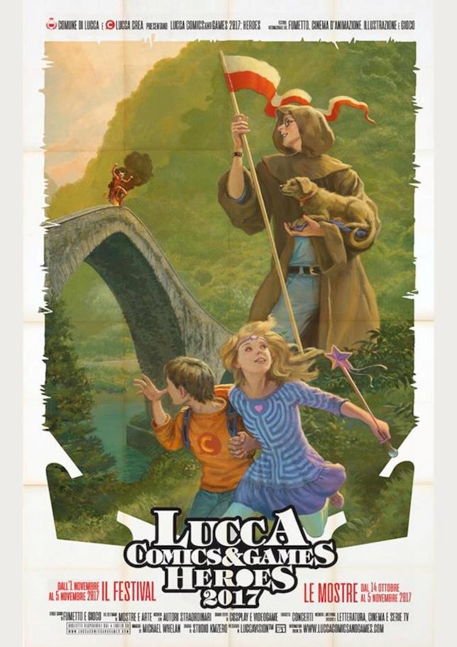 Il manifesto di Lucca Comics & Games