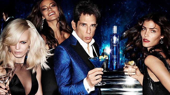 Derek Zoolander promuove la sua vodka in edizione limitata