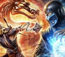 Sub-Zero combatte con Scorpion
