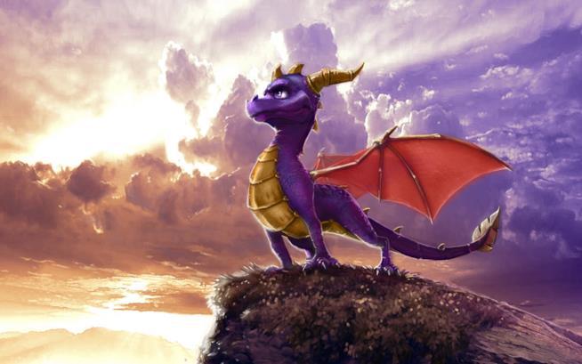 Un artwork di Spyro