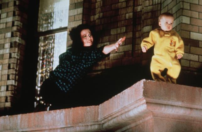 Baby Oscar in una scena di Ghostbusters 2