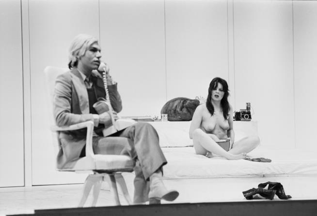 L'eclettico artista Andy Warhol