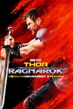 Thor brandisce due spade
