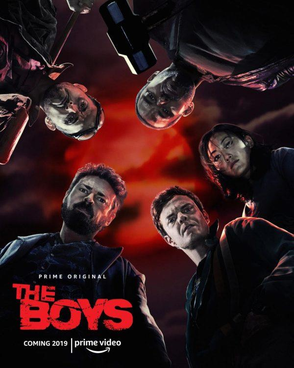 Risultati immagini per the boys serie tv poster