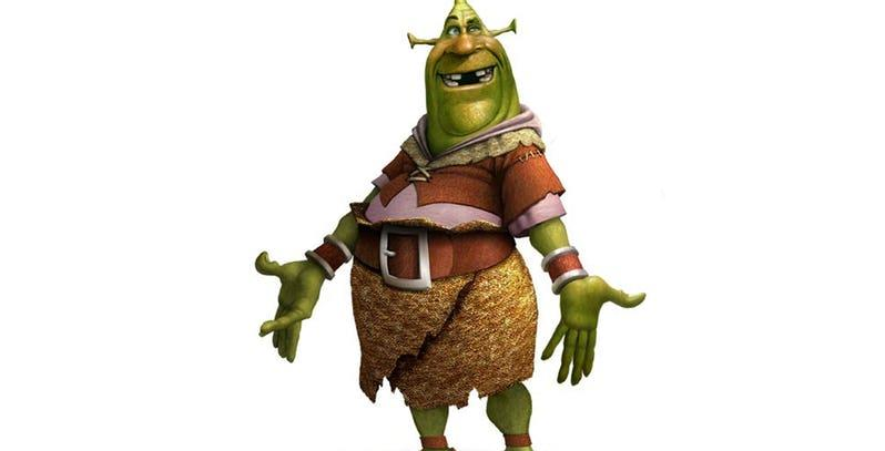 Concept Art: Shrek