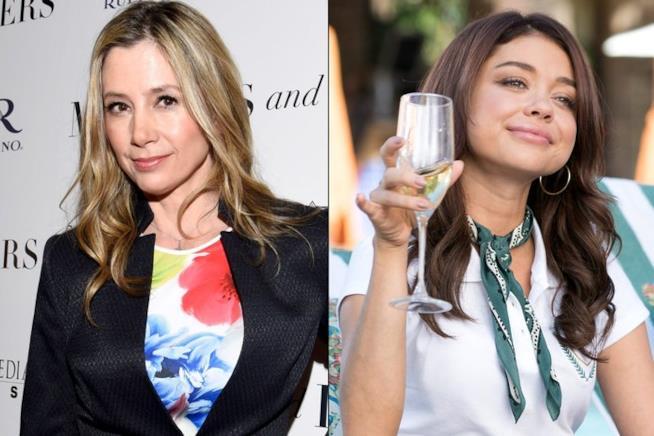 Mira Sorvino e Sarah Hyland, colleghe per una puntatata di Modern Family