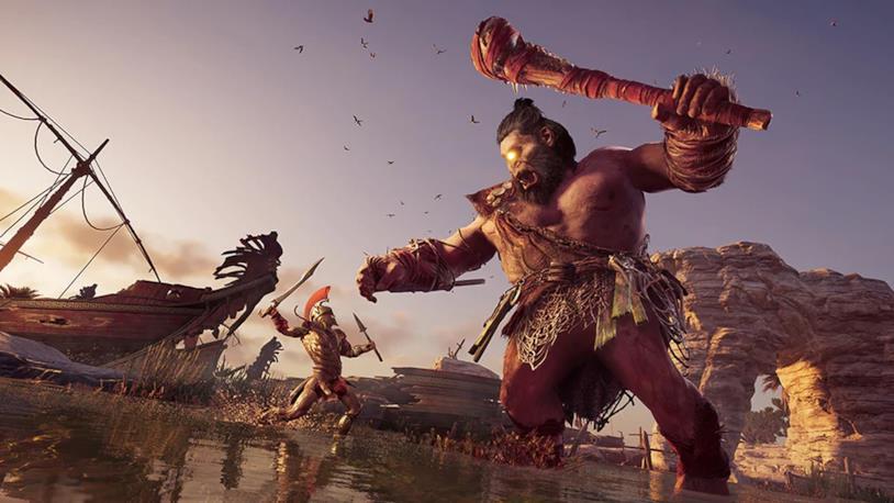 Il Ciclope di Assassin's Creed Odyssey