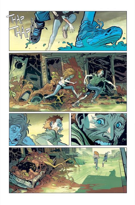 Anteprima del nuovo fumetto di Robert Kirkman, Oblivion Song