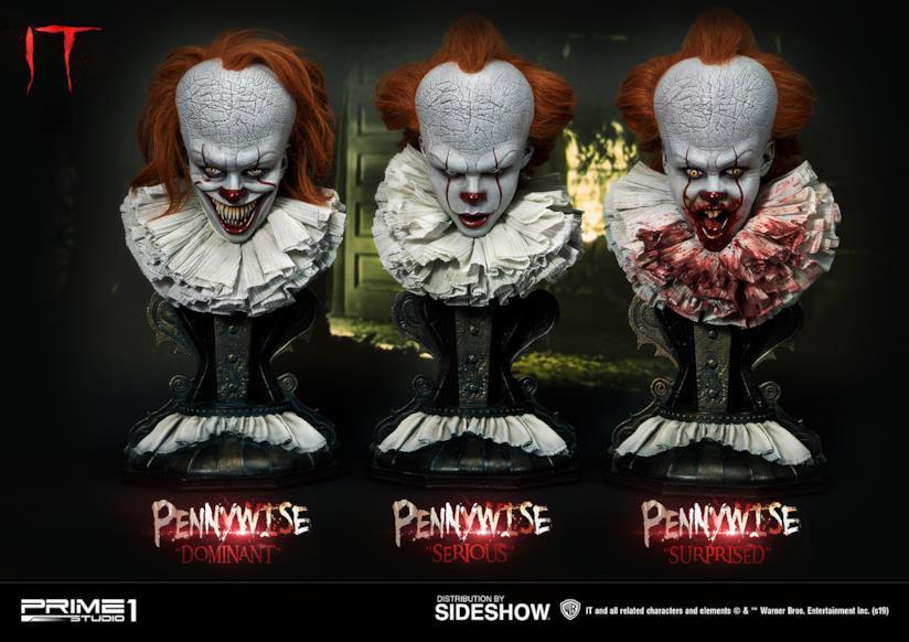 I terrificanti busti di Pennywise
