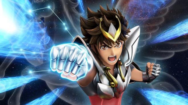Seiya di Pegasus nella versione in grafica 3D