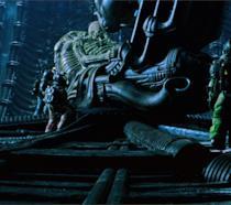 Una sequenza di Alien