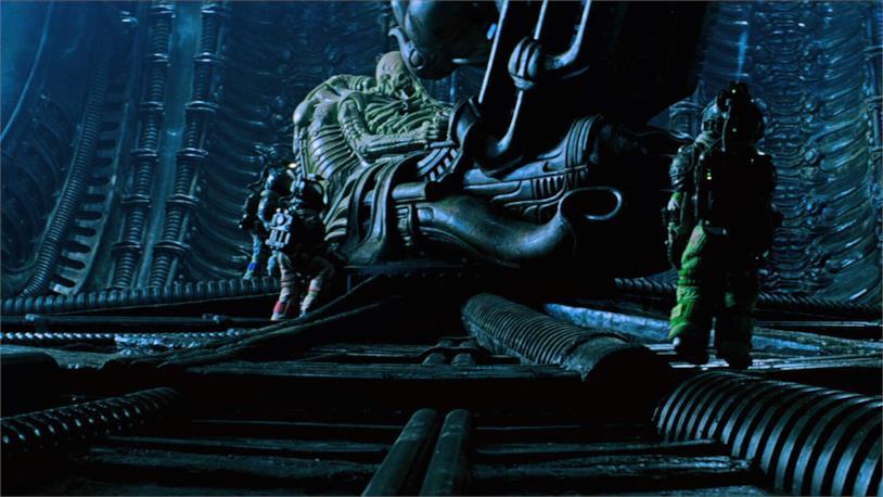 Un'immagine tratta da Alien