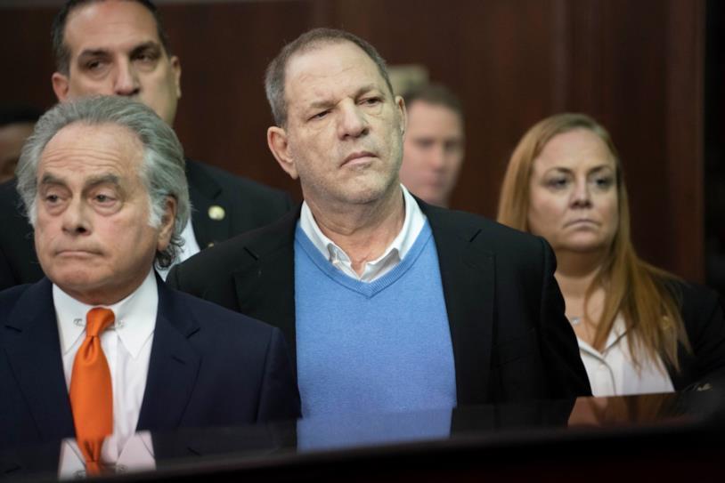 Harvey Weinstein in tribunale