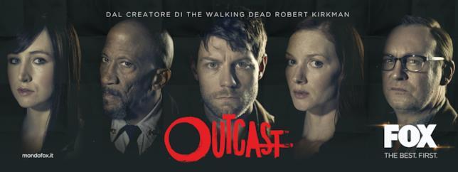 Il cast di Outcast che sarà presente al Napoli Comicon