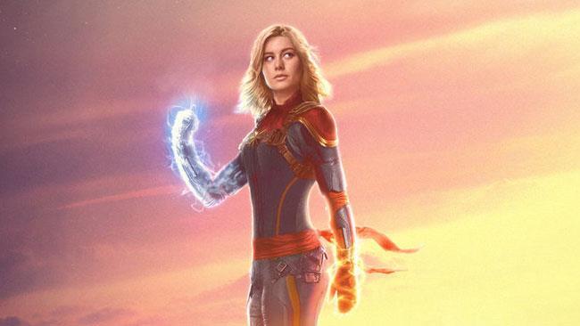 Brie Larson è Captain Marvel in una fanart