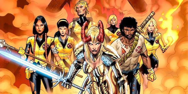Il fumetto dei New Mutants