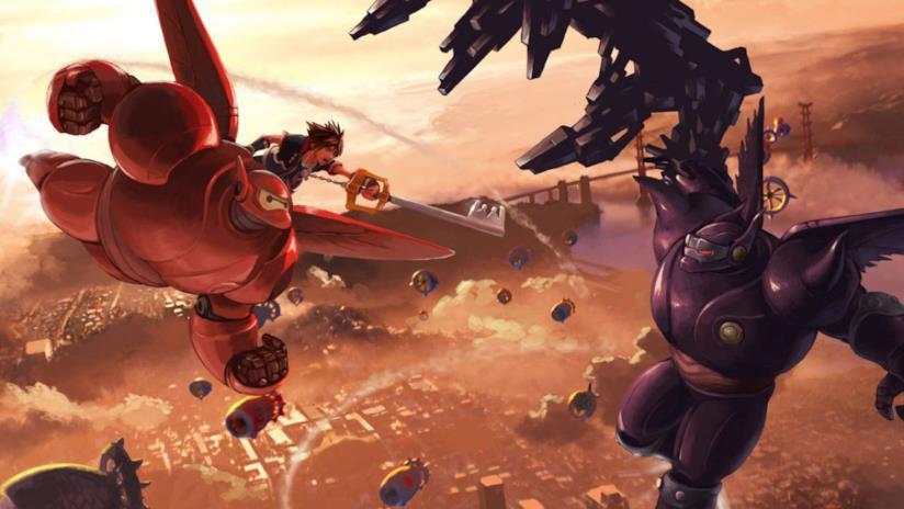 Kingdom Hearts III include anche il mondo di Big Hero 6