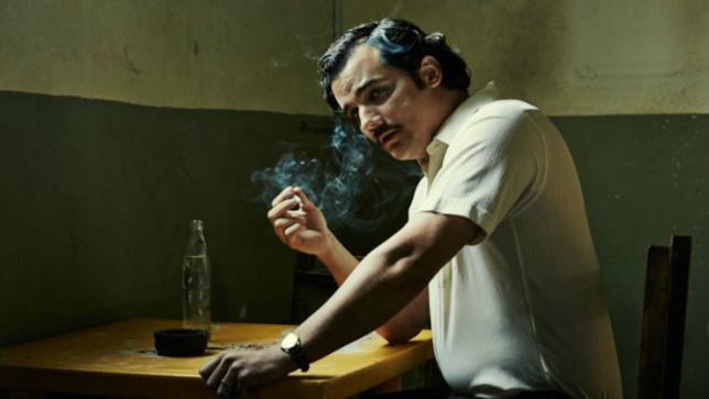 Wagner Moura nel ruolo di Pablo Escobar