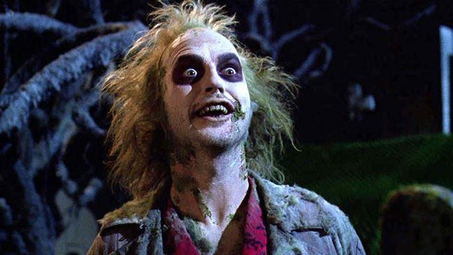 Beetlejuice interpretato da Michael Keaton
