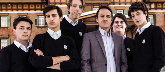 Alcuni dei protagonisti del film di Andrea De Sica
