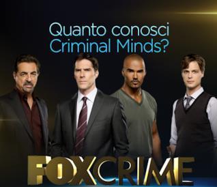 Quanto conosci Criminal Minds?