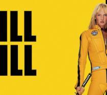 Uma Thurman nella locandina di Kill Bill