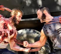 Un combattimento tra X-24 e Wolverine nel film Logan: Hugh Jackman contro Hugh Jackman