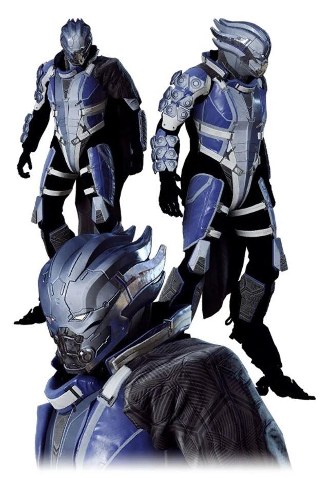 Le armature di Mass Effect in Anthem