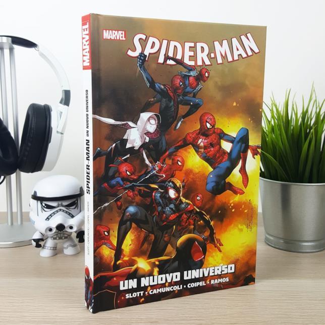 Il volume Spider-Man: Un Nuovo Universo