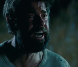 John Krasinski in una scena del film A Quiet Place