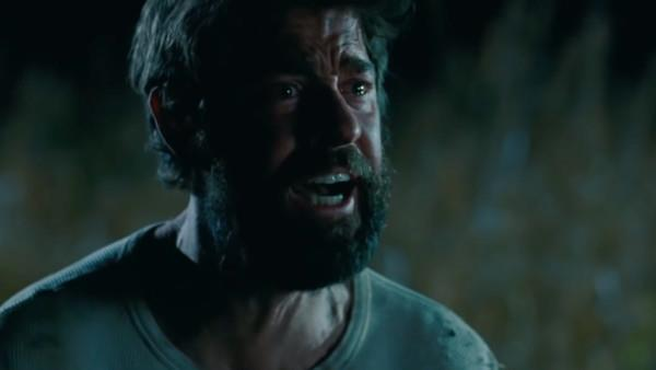 John Krasinski in una scena del film A Quiet Place