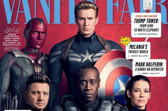 Captain America e alcuni dei suoi Vendicatori