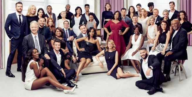 Il cast di Grey's Anatomy, Le regole del delitto perfetto e Scandal
