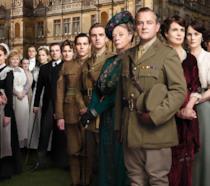 Il cast di Downton Abbey