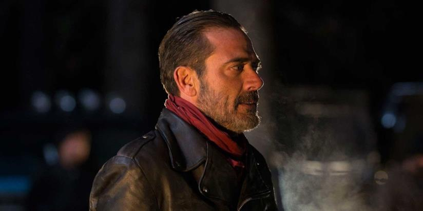 Negan sul set di The Walking Dead