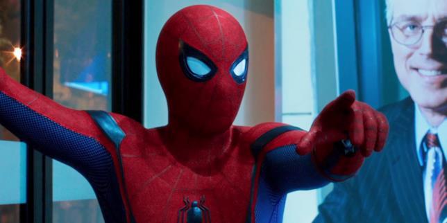 Spider-Man: Homecoming, una scena dal film