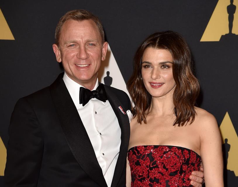 Daniel Craig e Rachel Weisz agli Oscar