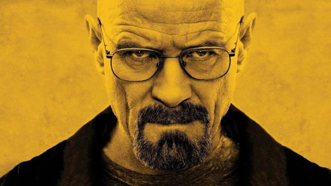 Bryan Cranston nei panni di Walter White in Breaking Bad