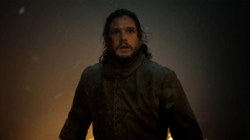 Kit Harington in Game of Thrones 8