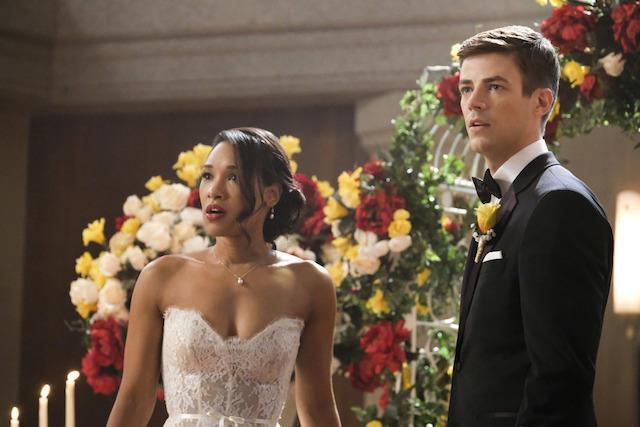 Barry e Iris interrotti da qualcosa di spaventoso
