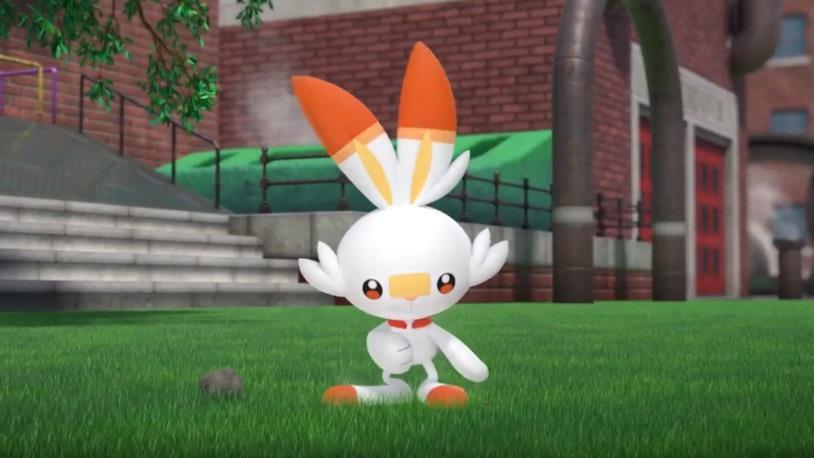 Scorbunny da Pokémon Spada e Scudo