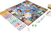 Il tabellone dell'edizione di Monopoly ispirata a Toy Story