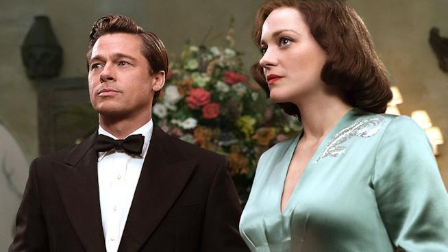 Brad Pitt e Marion Cotillard
