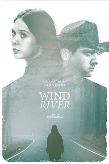 Jeremy Renner ed Elizabeth Olsen nel poster del film Wind River