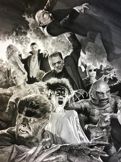 La tavola Monster Mash
