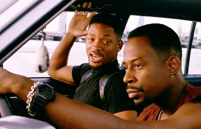 Will Smith e Martin Lawrence in una scena del primo Bad Boys