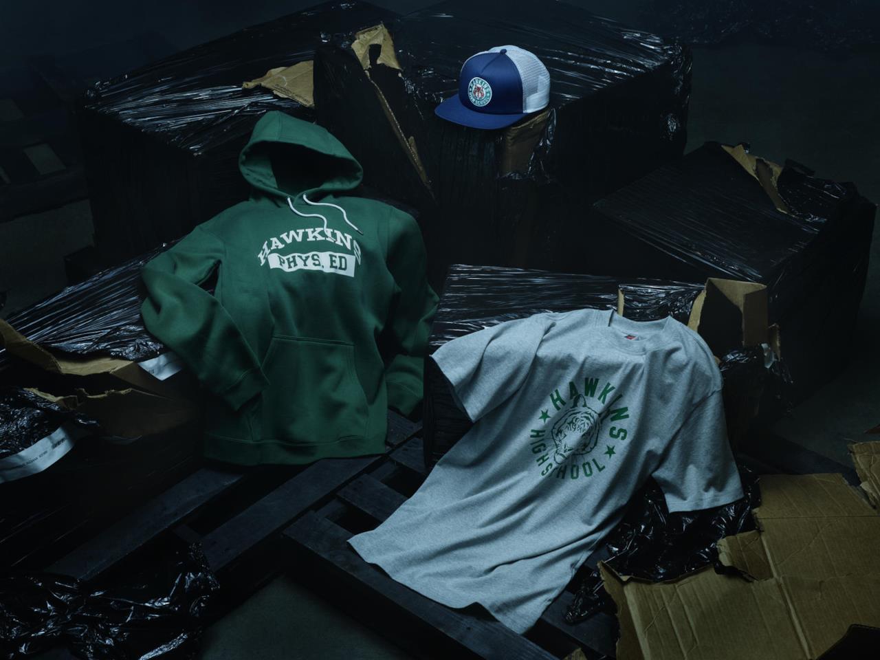 L'abbigliamento griffato Nike in tema Stranger Things
