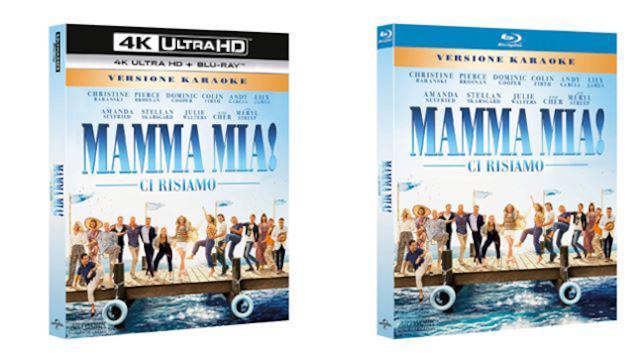 Mamma Mia! Ci risiamo - Blu-ray e 4K